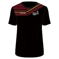 University of Strathclyde Athletics Club Male Sub T-Shirt Black