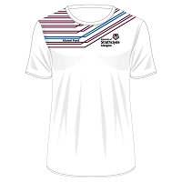 University of Strathclyde Athletics Club Male Sub T-Shirt White