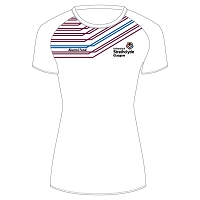 University of Strathclyde Athletics Club Female Sub T-Shirt White