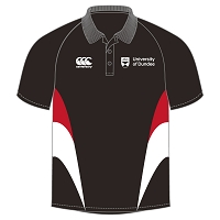 UOD Sports Bespoke Polo Shirt Female Fit Black