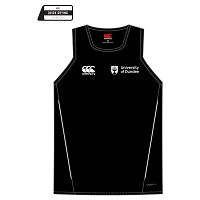 UOD Sports Dry Singlet Unisex Fit Black