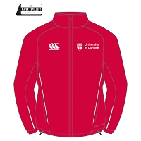 UOD Sports Full Zip Rain Jacket Unisex Fit Red