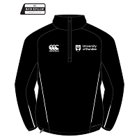 UOD Sports 1/4 Zip Microfleece Female Fit Black