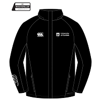 UOD Sports Stadium Jacket Unisex Fit Black
