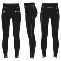 UOD Sports Vapodri Full Length Tight Female Fit Black