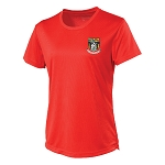 Waid Academy Cool T Fire Red Ladies