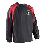 Waid Academy Pro Training Top Black/Red Senior