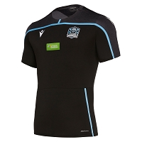 Glasgow Warriors M19 TRNG Summer Poly Dry Gym Shirt SS Junior