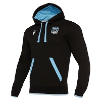 Glasgow Warriors M19 Travel Heavy Cotton Hoody Junior