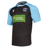 Glasgow Warriors M19 Warm Up Training Jersey Junior
