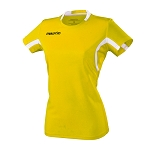 Macron Womens Alkaline Shirt - Yellow/White