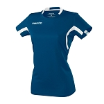 Macron Womens Alkaline Shirt - Navy/White
