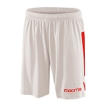Macron Elbe Short - White/Red