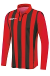 Macron Skoll Shirt - Red/Black