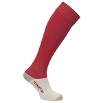 Macron Round Sock - Red (Pack of 5)
