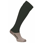 Macron Round Sock - Black (Pack of 5)