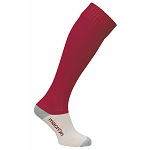 Macron Round Sock - Cardinal (Pack of 5)