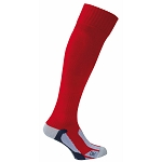 Macron First Carbon Sock - Red (Pack of 5)