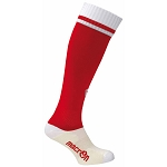 Macron Dual Sock - Red/White (Pack of 5)