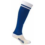 Macron Dual Sock - Blue/White (Pack of 5)