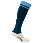 Macron Dual Sock - Navy/Blue (Pack of 5)