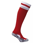 Macron Azlon Sock - Red/White (Pack of 5)