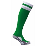 Macron Azlon Sock - Green/White (Pack of 5)