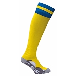 Macron Azlon Sock - Yellow/Blue (Pack of 5)