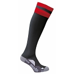 Macron Azlon Sock - Black/Red (Pack of 5)