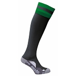 Macron Azlon Sock - Black/Green (Pack of 5)
