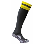 Macron Azlon Sock - Black/Yellow (Pack of 5)