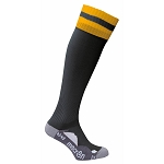 Macron Azlon Sock - Black/Amber (Pack of 5)