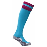 Macron Azlon Sock - Columbia/Cardinal (Pack of 5)