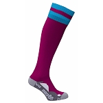 Macron Azlon Sock - Cardinal/Blue (Pack of 5)