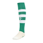 Macron Hoops Sock - Green/White (Pack of 5)