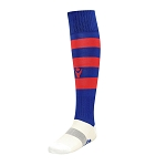 Macron Hoops Sock - Navy/Red (Pack of 5)
