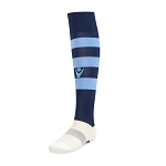 Macron Hoops Sock - Navy/Blue (Pack of 5)