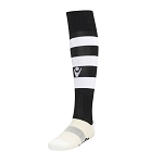 Macron Hoops Sock - Black/White (Pack of 5)