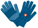 Macron Rivet Gloves - Blue (Pack of 6)