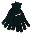 Macron Iceberg Gloves - Black (Pack of 6)