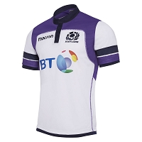2018 Scotland Rugby Away Poly Replica Shirt SS SR