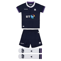 2018 Scotland Rugby Home Kid Boxset