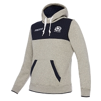 2018 Scotland Rugby Heavy Cotton Hoody Gry/Nav JR