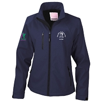 Mauchline & District YFC Soft Shell Jacket Ladies Navy