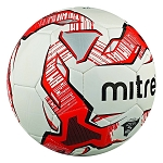 Mitre Impel Training Football - White/Red/Black