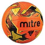 Mitre Malmo+ Training Football - Orange/Black/Yellow