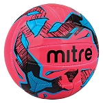 Mitre Malmo+ Training Football - Pink/Cyan