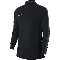 Nike Women's Academy 18 Drill Top - Black/Anthracite/(White)