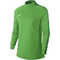 Nike Women's Academy 18 Drill Top - Green Spark/Pine Green/(White)