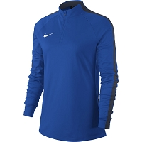 Nike Women's Academy 18 Drill Top - Royal Blue/Obsidian/(White)